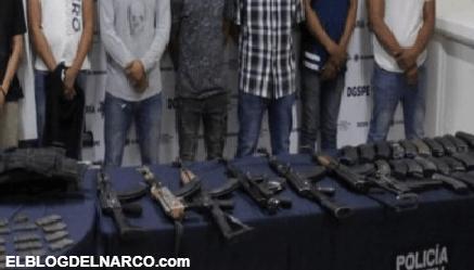 Policías se topan con Convoy de Sicarios del CDG, los Pistoleros amenazaron a los Elementos
