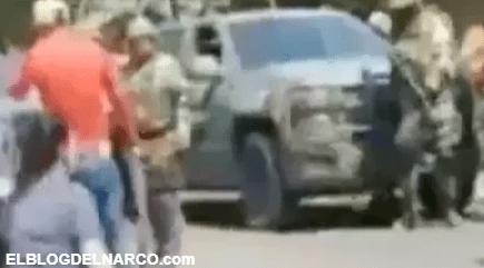 Sicarios del Cártel de Los Viagras disparan contra helicóptero del ejército mexicano (VIDEO)