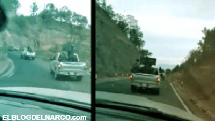 VIDEO El Mencho ordena dejar ofensiva en Nayarit y envía a sus Sicarios en convoy a Zacatecas