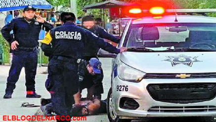 VIDEO Policías de Tulum, Quintana Roo aplican fuerza bruta a Salvadoreña y la matan....