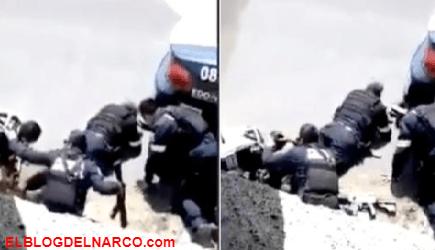 VIDEOS Así emboscaron Sicarios de La Familia Michoacana a Estatales y Ministeriales