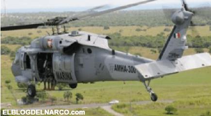 ¿Eres 'halcón' ¡a ver, vuela!; Marinos, ponían a 'volar' a los 'halcones' del Narco desde un helicóptero