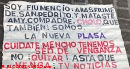 'Mataste a mi compadre Cholo' manta con amenaza al 'Mencho', líder del CJNG