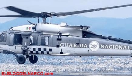 Cartel de Sinaloa aeronave de la guarda nacional en Magdalena