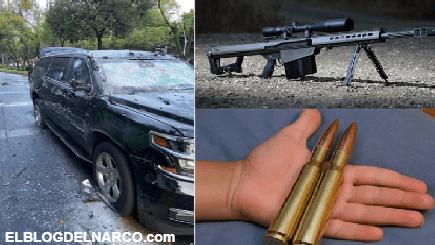 El Barrett calibre .50, fusil de alto poder preferido y favorito del Narco en México