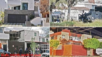El Mapa de la fincas del horror a la vista de todos, las casas de seguridad del CJNG