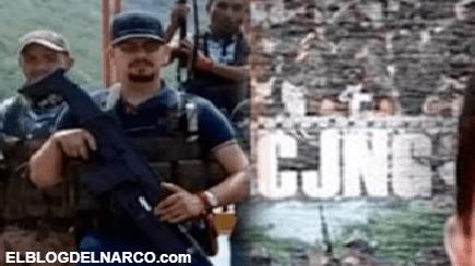 """Carteles Unidos levanto a un tío de """"El Mencho"""" por eso el CJNG no retira de Aguililla"""
