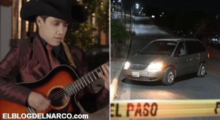 FOTOS Ejecutan al músico Julio Verdugo en la colonia Huizaches de Culiacán, Sinaloa