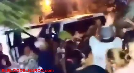 VIDEO Otra vez Sicarios repartieron despensas por ordenes del Chapo Guzmán en Sinaloa