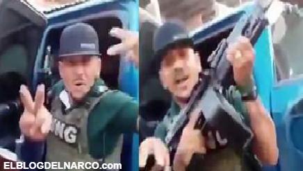 VIDEO Sicarios del CJNG sigue retando a Carteles Unidos y les dicen donde están para el topón