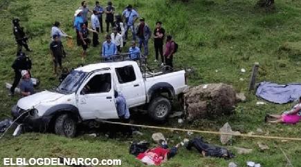 FOTOS Ejecutan a 5 indígenas Tzotziles que llevaban boletas electorales en Chiapas