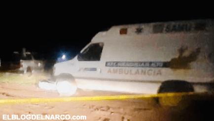 Ejecutan a paramédicos en Zacatecas, hallaron los cuerpos en el interior de una ambulancia