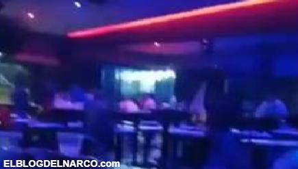 Filtran el video del ataque de Sicarios al Bar Amnesia en Fresnillo, Zacatecas