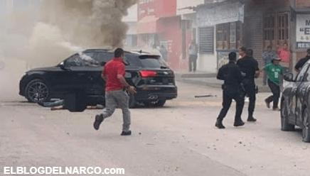 Fotos exclusiva de la ejecución de 'El Junior', hijo del 'Tío Gil', líder del Cártel de Sinaloa
