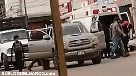 IMAGENES Enfrentamiento entre grupos armados de Los Chapitos y El Mayo de CDS