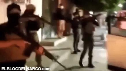 VIDEO El Cártel del Golfo exhibe armamento en plenas calles de ciudad mexicana
