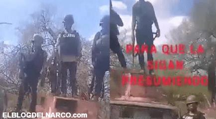 VIDEO Sicarios celebran y se enfrentan a Policías en venganza por la muerte de El Raya