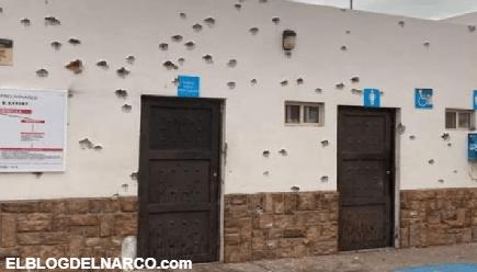 Video de como un convoy de Pistoleros bien armados llego a Magdalena de Kino, Sonora