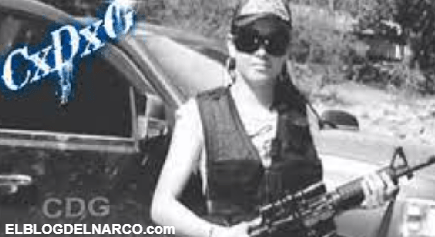 La Güera Loca, su forma de asesinar la llevo a liderar un del CDG llamado Las Hienas