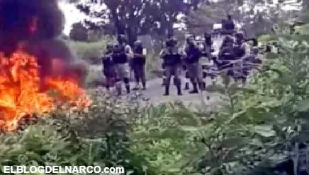 """VIDEO """"Los golpearon, les dieron balazos y les mocharon la cabeza"""", alardean los del CJNG"""