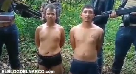 CDG interrogan a Sicarios del CDN, que descuartizaron a La Diabla por ordenes de La Gorda