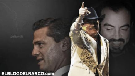 El día que Peña Nieto convivió con los líderes de los Beltrán Leyva y Joan Sebastian