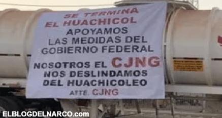 Las 60 narcomantas del Cártel Jalisco Nueva Generación en lo que va de 2021
