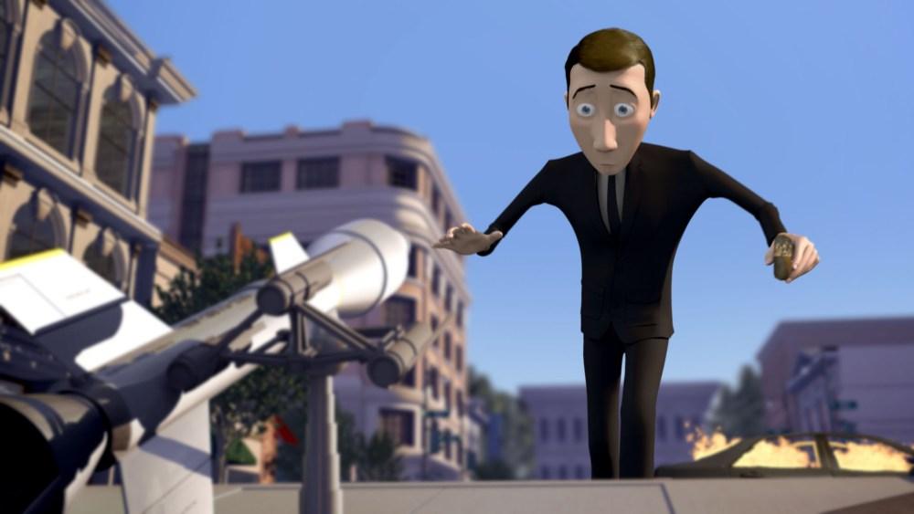 Corto de animación 3D: Pigeon: Impossible (3/3)
