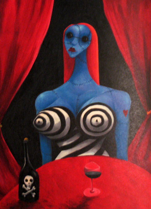 Tim Burton en el MoMA de Nueva York (3/5)