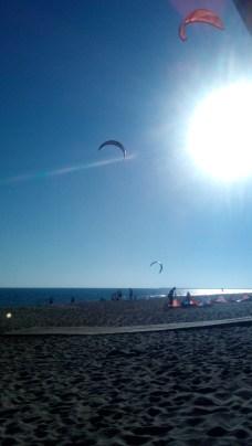 KiteSurf en las playas de Huelva