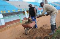 trabajos en el terreno del Labra