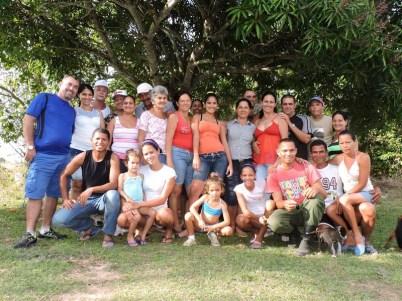 Todos juntos, la familia en el Nuevo Año 2015