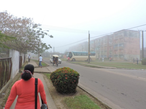 Neblina inunda en Nueva Gerona001
