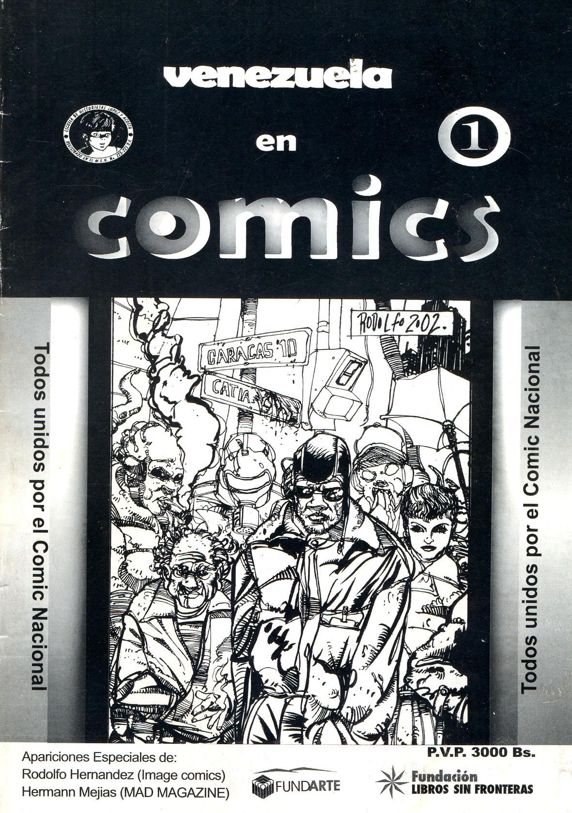 Revista Venezuela en Cómics