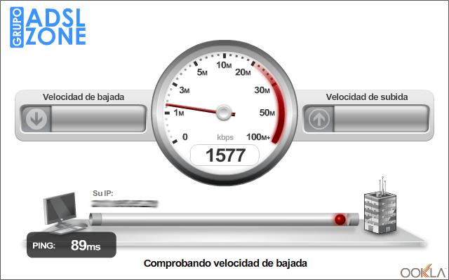 Cómo saber la velocidad de tu conexión a Internet (2/5)