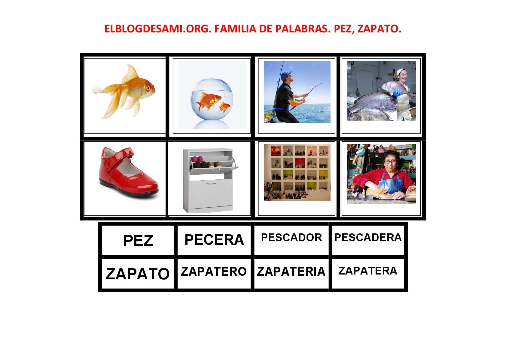 Zapato Familia Léxica De Nubes Wwwimagenesmycom