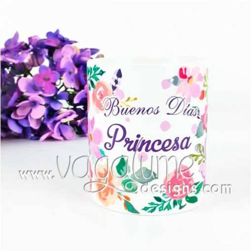 taza_femenina_nuevo_diseno_buenos_dias_princesa_flores_y_lunares_regalos_con_encanto_vagalume_designs_1web