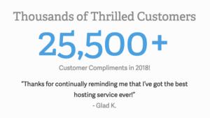 InMotion Hosting recibió más de 25,500 elogios el año pasado por su soporte