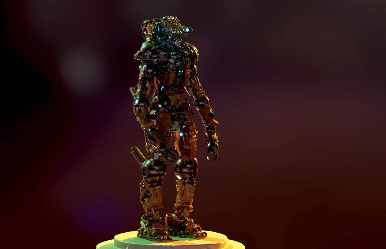 el blumo _ exosuit odir _ vr sculpting