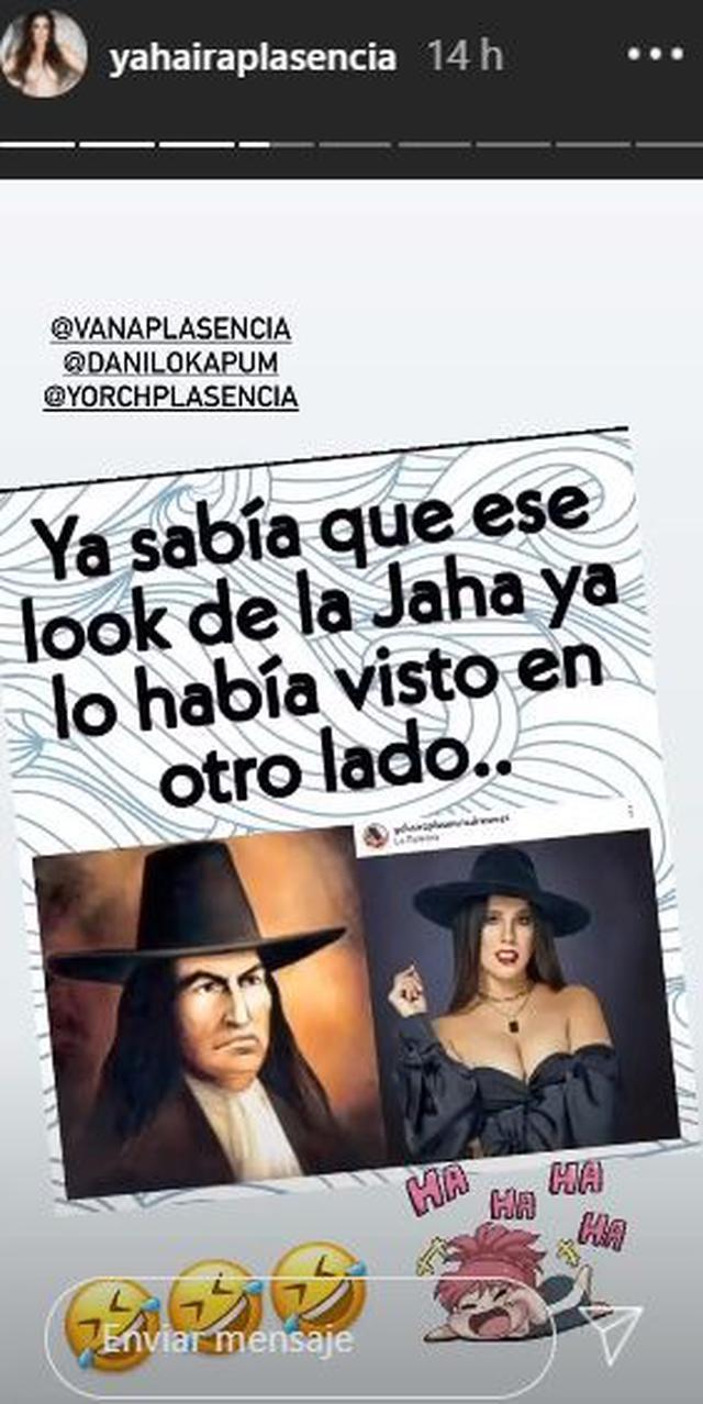Yahaira Plasencia toma con humor las bromas en torno a su nuevo look. (Foto: Instagram)