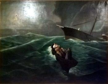 Óleo de Iglesia de Nuestra Señora del Mar