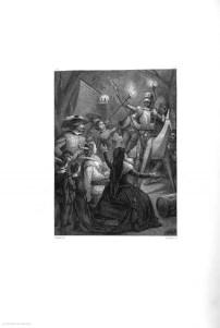 """On Kixote Mantxakoa Estebanilloren kalkografia, Tomás Gorchsek 1863an argitaratutako Kixotean agertua Iturria: """"Kixoteren irudi-bankua www.qbi2005.com"""""""