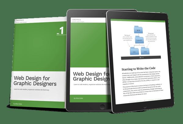 Web Design For Graphic Designers Book Cover