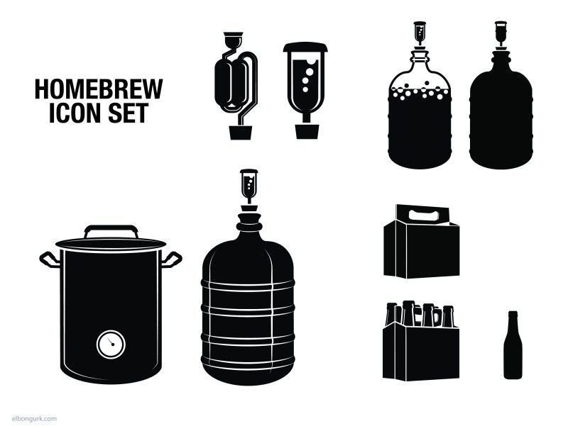 home-brew icon set