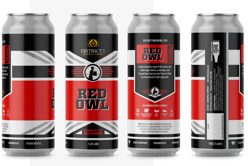 Red Owl Amber Product Shots