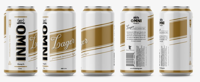 OMNI Lager 360 product shot
