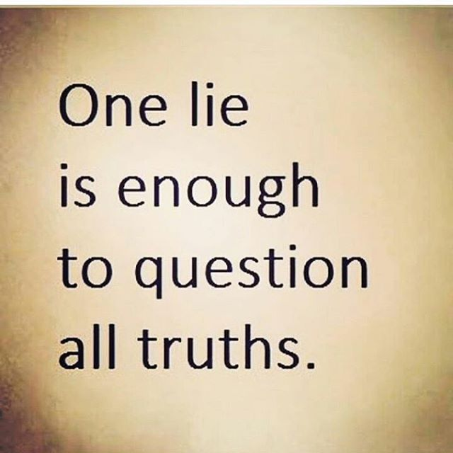 one-lie-is-enough