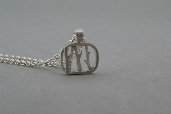 Front of tree necklace