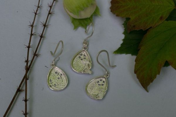 Hare drops in silver
