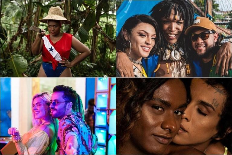 Videoclipes Música Brasileira Emicida Gaby Amarantos Liniker Duda Beat